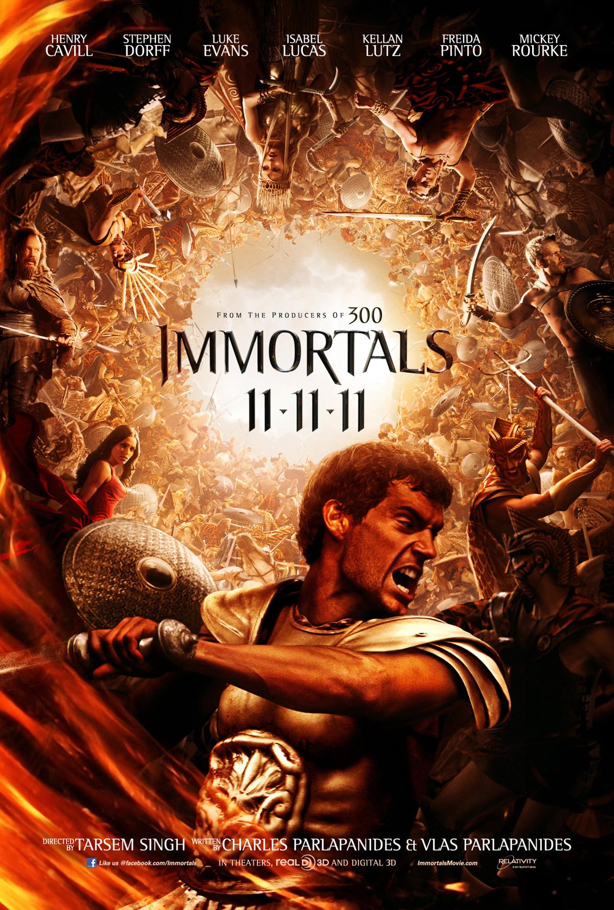 Изображение для Война Богов: Бессмертные 3Д / Immortals 3D (2011) [BDrip, 720р, Anaglyph RAV / Анаглиф RAV] (кликните для просмотра полного изображения)
