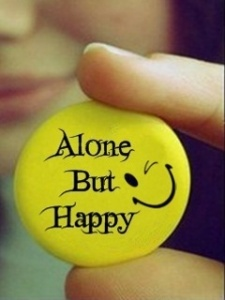 happy-alone