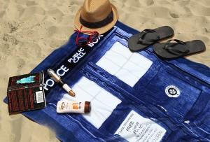 tardis-beach-towel