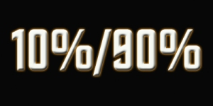 10%-90%