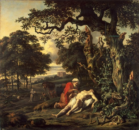 Jan Wijnants - Parable of the Good Samaritan